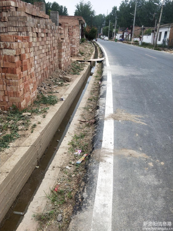 洛宁县原安虎线修路打渠存在豆腐渣工程,公路局尽到责任了吗?