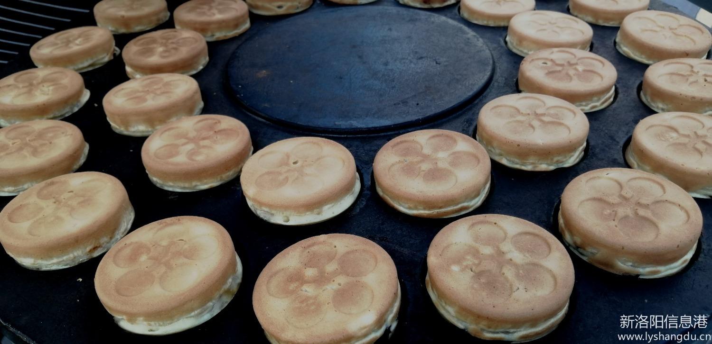 #吃在365# 脆皮红豆饼
