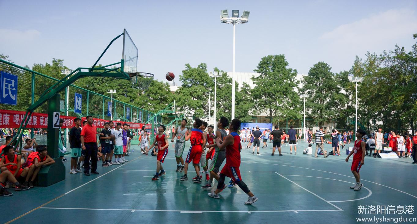 365市首届全民健身运动会篮球比赛今天开幕