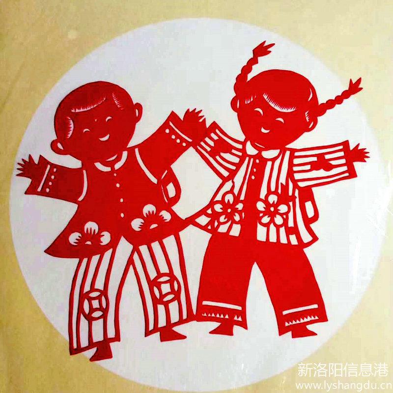 """祝小朋友""""六一""""儿童节快乐_杨智晓老师《童趣》剪纸作品欣赏"""