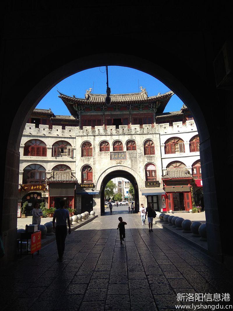 照片帖(1027)洛阳老城丽景门 随拍