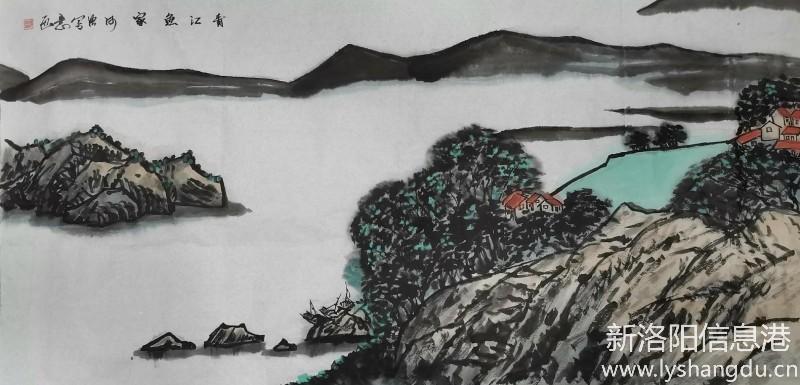 洛阳晚报老年大学第一届网络绘画作品展